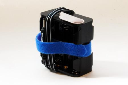 タイムドメインスピーカー用モバイル電池ケース