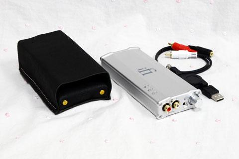 iFi-Audio micro iDAC2 PCオーディオiDAC2セット